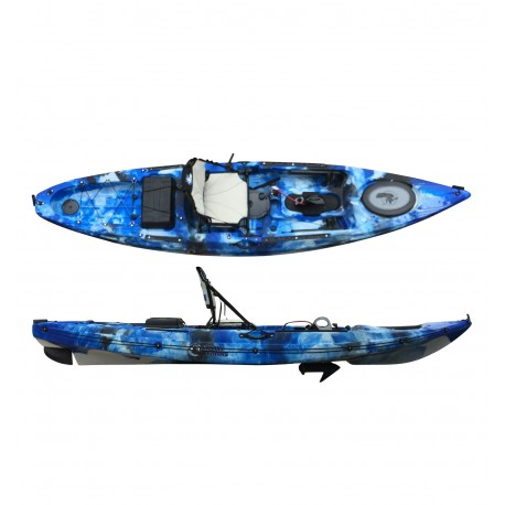 Wahoo S Series Pedal and Motor Fishing Kayak