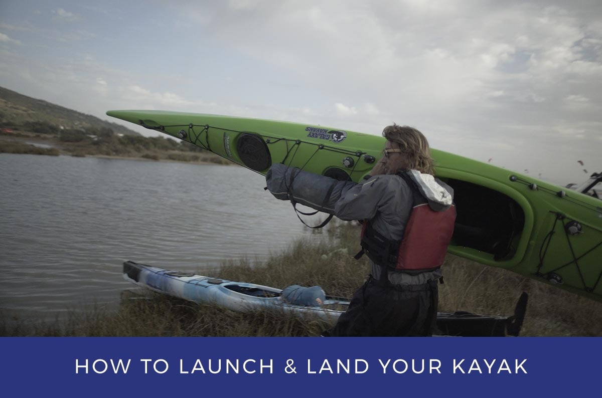 How to launch and land your kayak